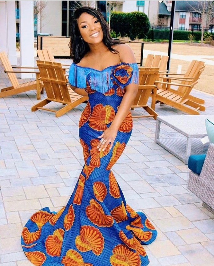 Ankara Style: Get Chic and Super Cute In This Lovely Gowns 3