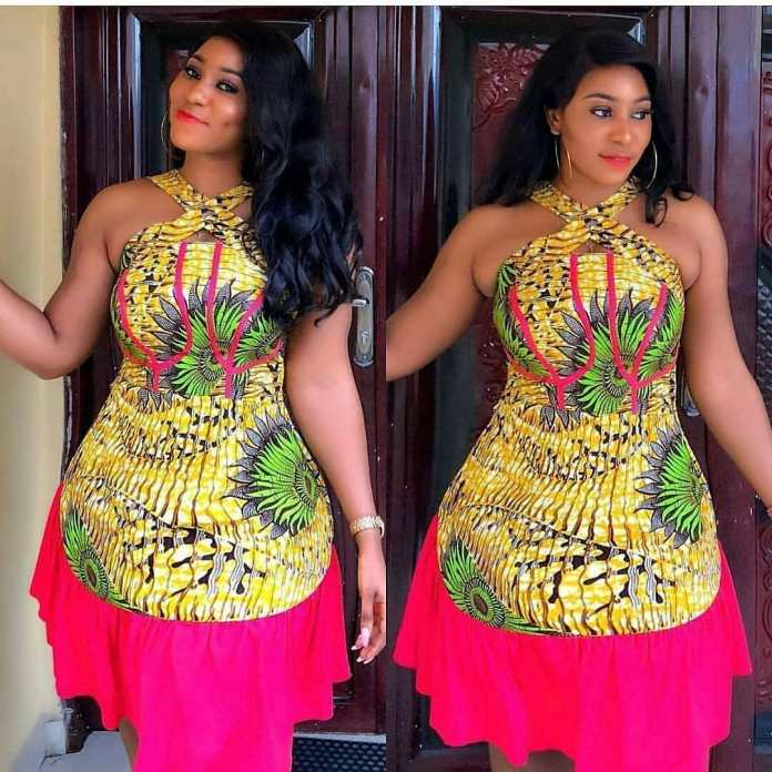 Ankara Style: Get Chic and Super Cute In This Lovely Gowns 6