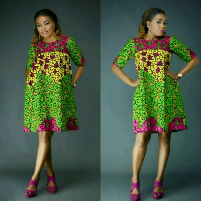 Ankara Style: Slay Your Week With Beautiful Short Gown Designs 2