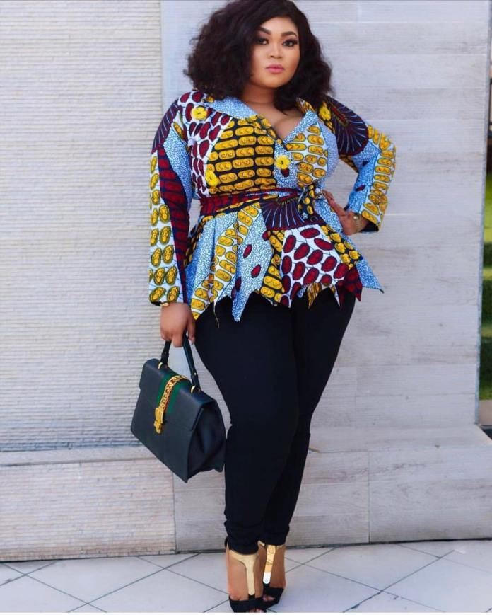 Ankara Styles: Fantastic Tops And Jackets To Achieve A Chic Look 2
