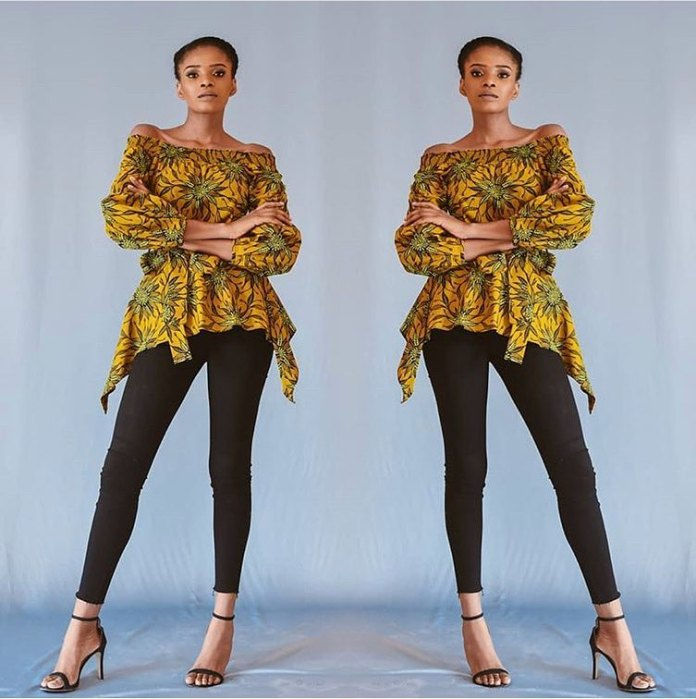 Ankara Styles: Fantastic Tops And Jackets To Achieve A Chic Look 7