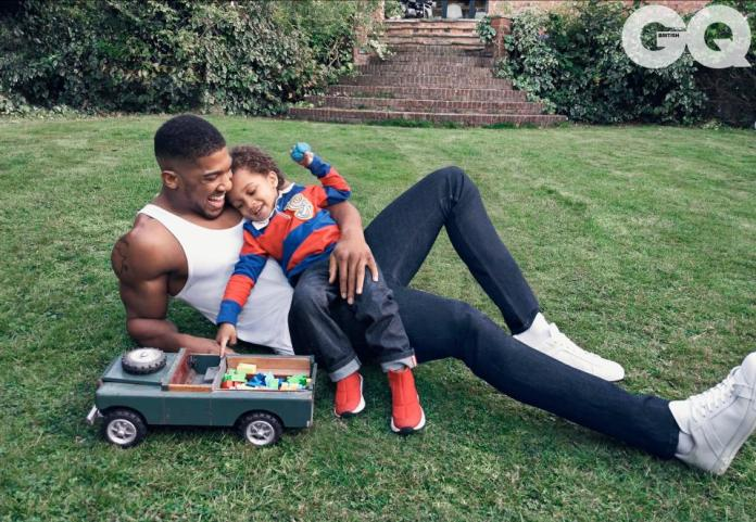Anthony Joshua And His Cute Son, JJ, Graces British GQ December Issue 1