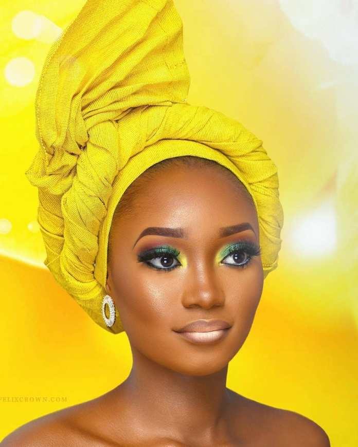Aso Ebi Style: Stunning Makeup And Gele Styles To Compliment Your Aso Ebi 5