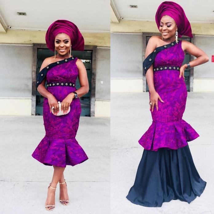 Aso Ebi Style: Channel Your Inner Goddess In These Fanciful Styles 4