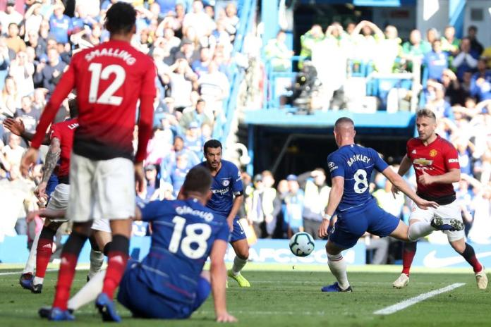 Chelsea 2 Manchester United 2: Ross Barkley Scores 96th Minute Equaliser To Cancel Out Anthony Martial's Double 3