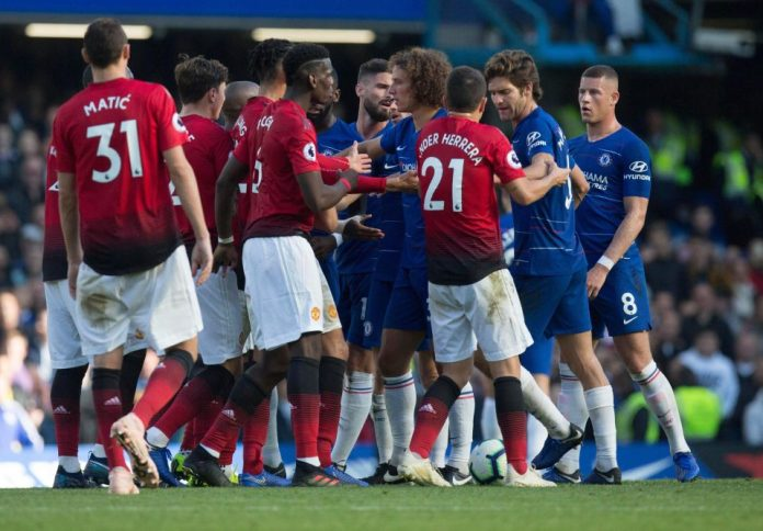 Chelsea 2 Manchester United 2: Ross Barkley Scores 96th Minute Equaliser To Cancel Out Anthony Martial's Double 6