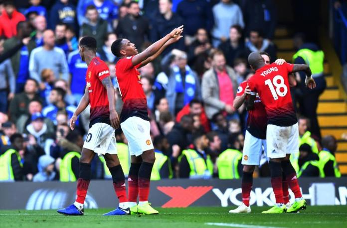Chelsea 2 Manchester United 2: Ross Barkley Scores 96th Minute Equaliser To Cancel Out Anthony Martial's Double 8