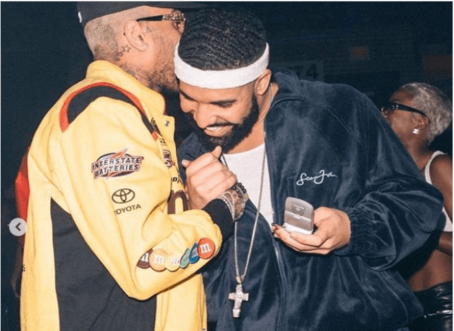 The Insider: Celebrities Storm Drake's 32nd Birthday In Retro Style 2