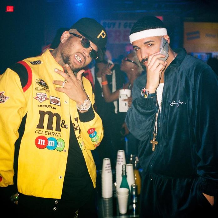 The Insider: Celebrities Storm Drake's 32nd Birthday In Retro Style 8