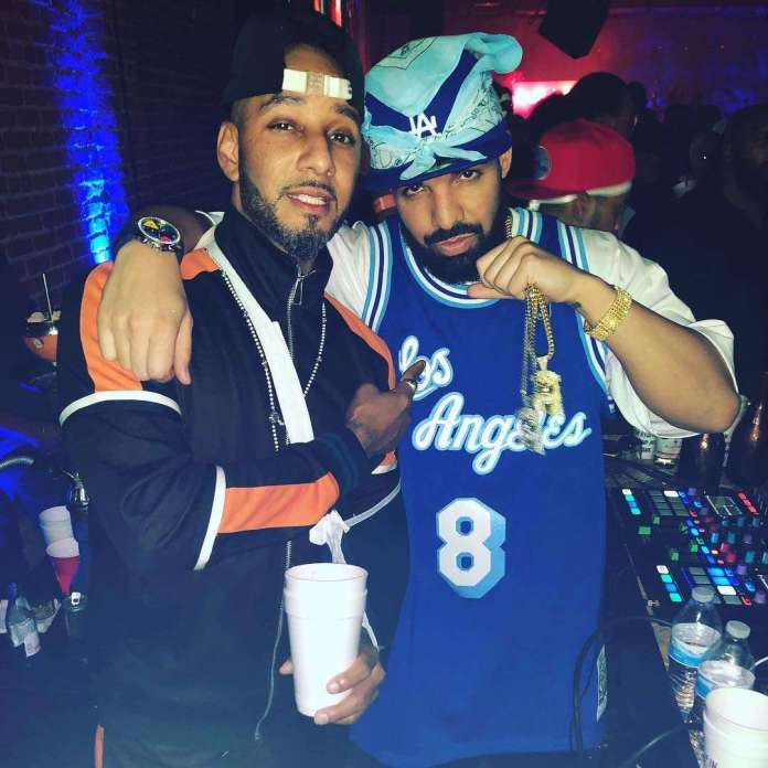 The Insider: Celebrities Storm Drake's 32nd Birthday In Retro Style 5