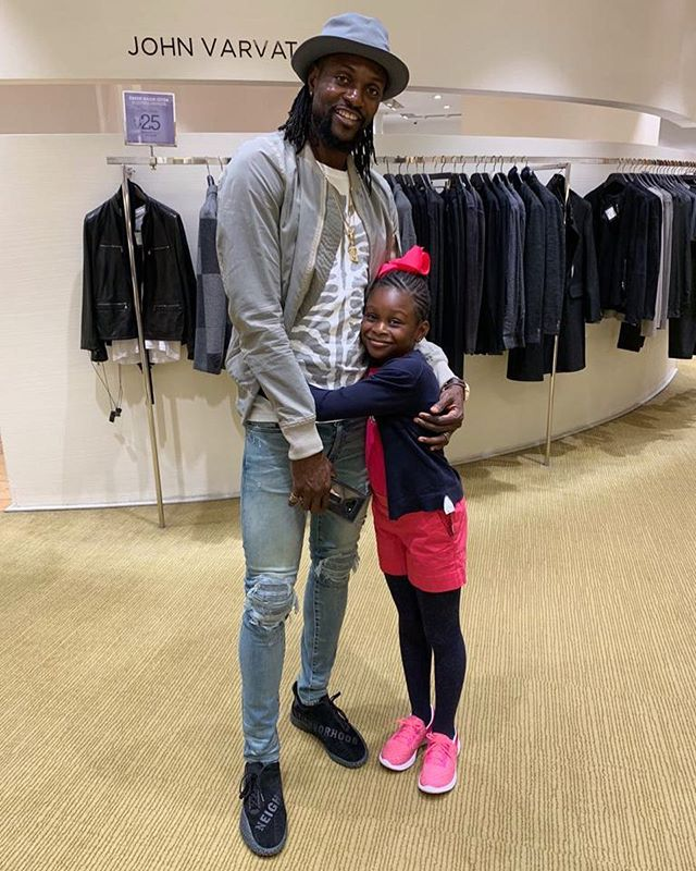 Family Goals! Emmanuel Adebayor And Daughter Are Picture Perfect In New Adorable Photo 1