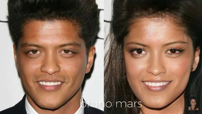 Funny Photos Of How Your Favorite American Male Musicians Would Look Like If They Were Women 4