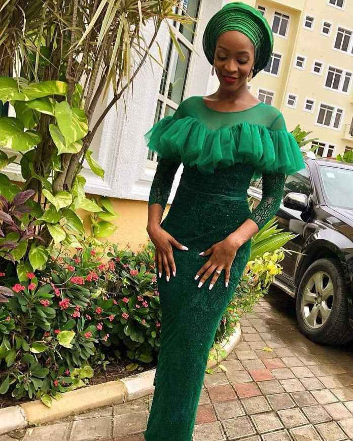 Aso Ebi Style: How To Rock Your Green Asoebi Styles With Utmost Envy 4