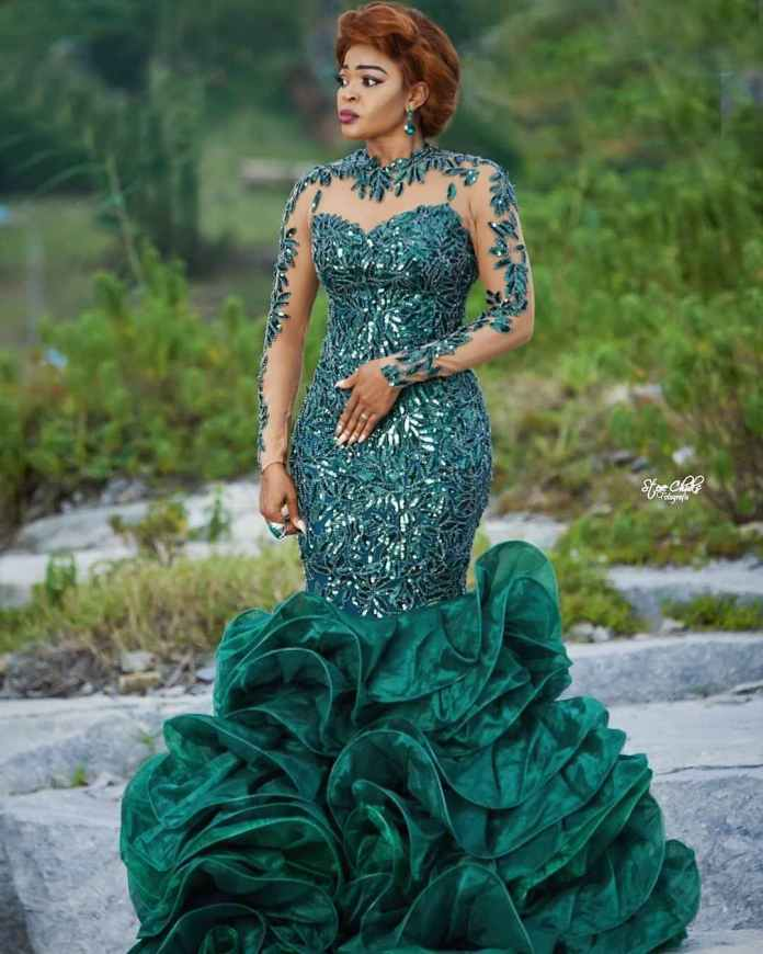 Aso Ebi Style: How To Rock Your Green Asoebi Styles With Utmost Envy 6