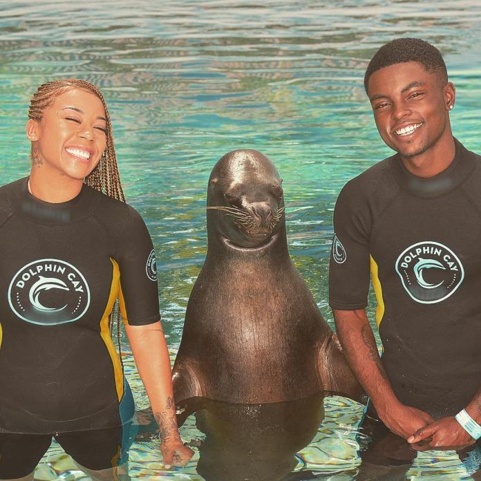 Adorable Photos Of Keyshia Cole And Her Lover Niko Khale In Bahamas 3