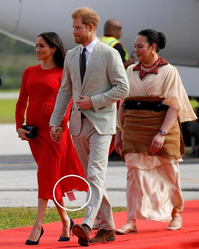 Ouch! Meghan Markle Suffers Embarrassing Fashion Faux On Royal Tour 1