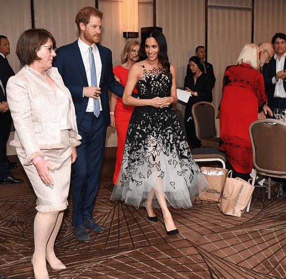 Meghan Markle Defines Fairytale In Oscar De La Renta Dress 1