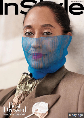 Tracee Ellis Ross Covers InStyle's November Issue koko tv ng 3