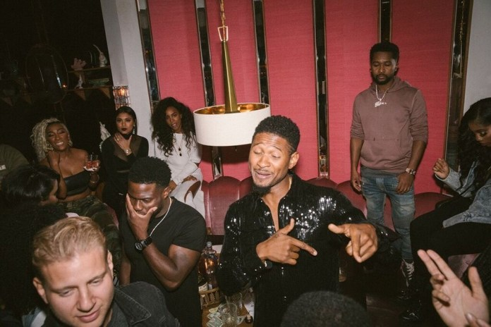 Usher Celebrates His 40th Birthday In A Very Special Way 1