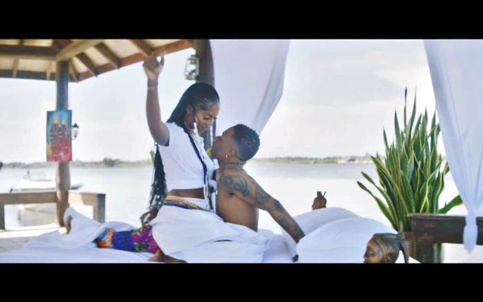 "Twitter Users Have Gone Berserk Over Wizkid And Tiwa Savage's ""Fever"" Video 2"