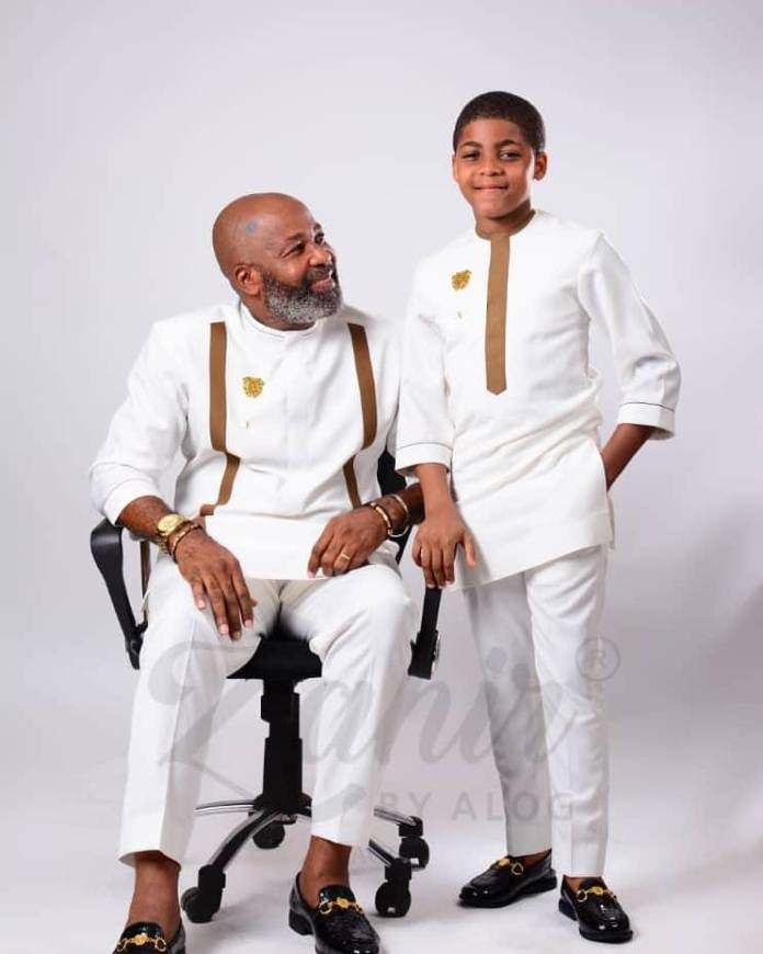 King And Prince! Yemi Solade Shares Adorable Photos With His Son 3