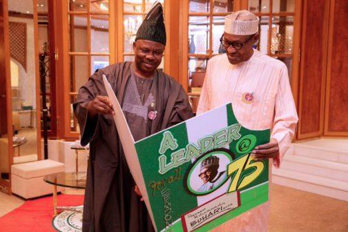 Ibikunle Amosun Declares Support For Buhari & Thrashes Rumours 1