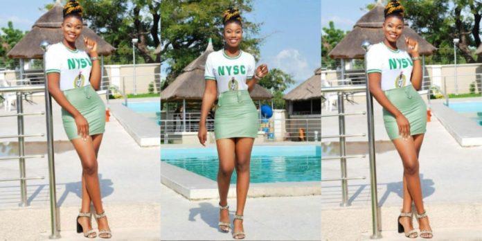 So Stew: Slay Queen Corper Turns Her Khaki Wear To Mini Skirt 1