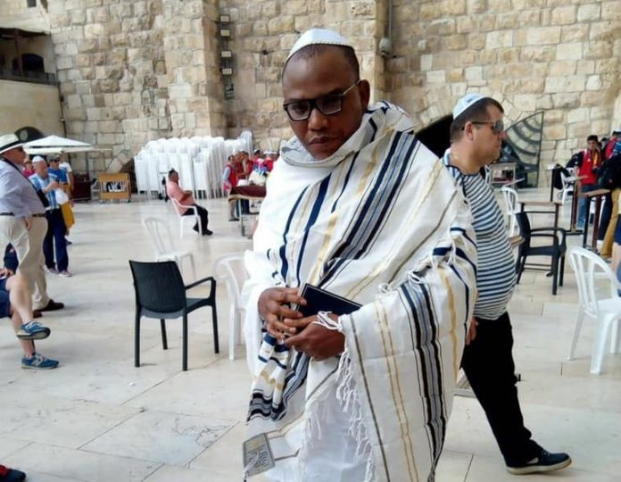 Leaked Video Of IPOB Leader Nnamdi Kanu In Bed With His Wife Surfaces...See His Reaction 1