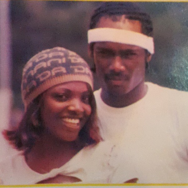 throwback picture of 2face and annie idibia