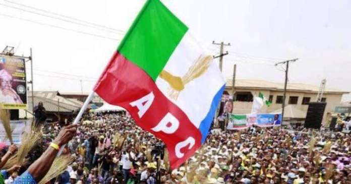 VIDEO: See APC Bayelsa State Chairman And Honourable Fight Over Party Primaries