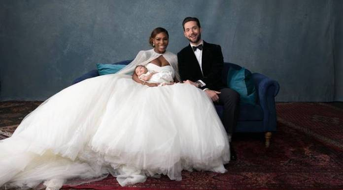 Serena Williams And Hubby, Alexis Ohanian Celebrates First Wedding Anniversary 2
