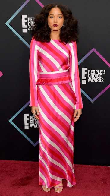 2018 People's Choice Award: See The Best Dressed Celebrities On The Red Carpet 18