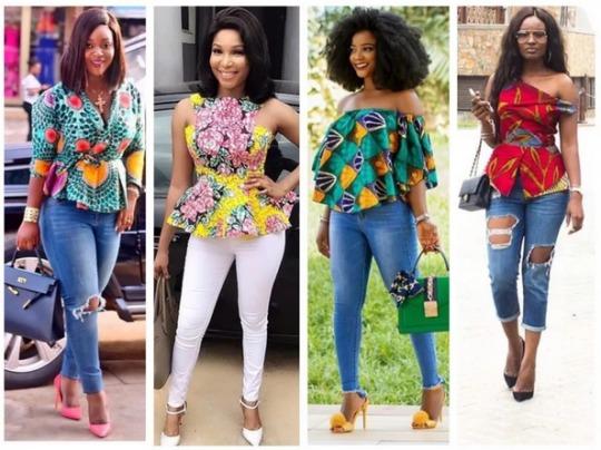 Ankara Style: Be Pretty In Colourful Stylish Peplum Designs 7