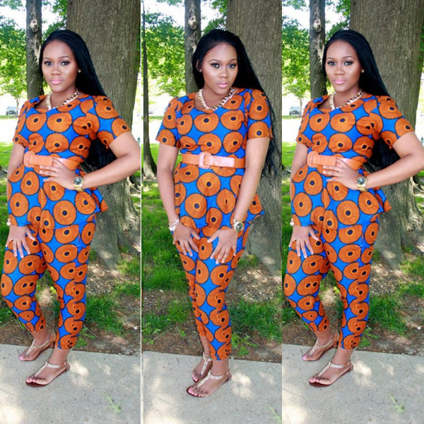 Ankara Style: Turn Heads In Stunning Vibrant Trouser Designs 1