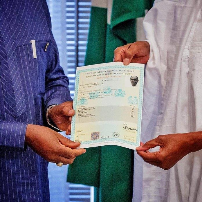 Court of Appeal Dismisses Buhari Certificate Case