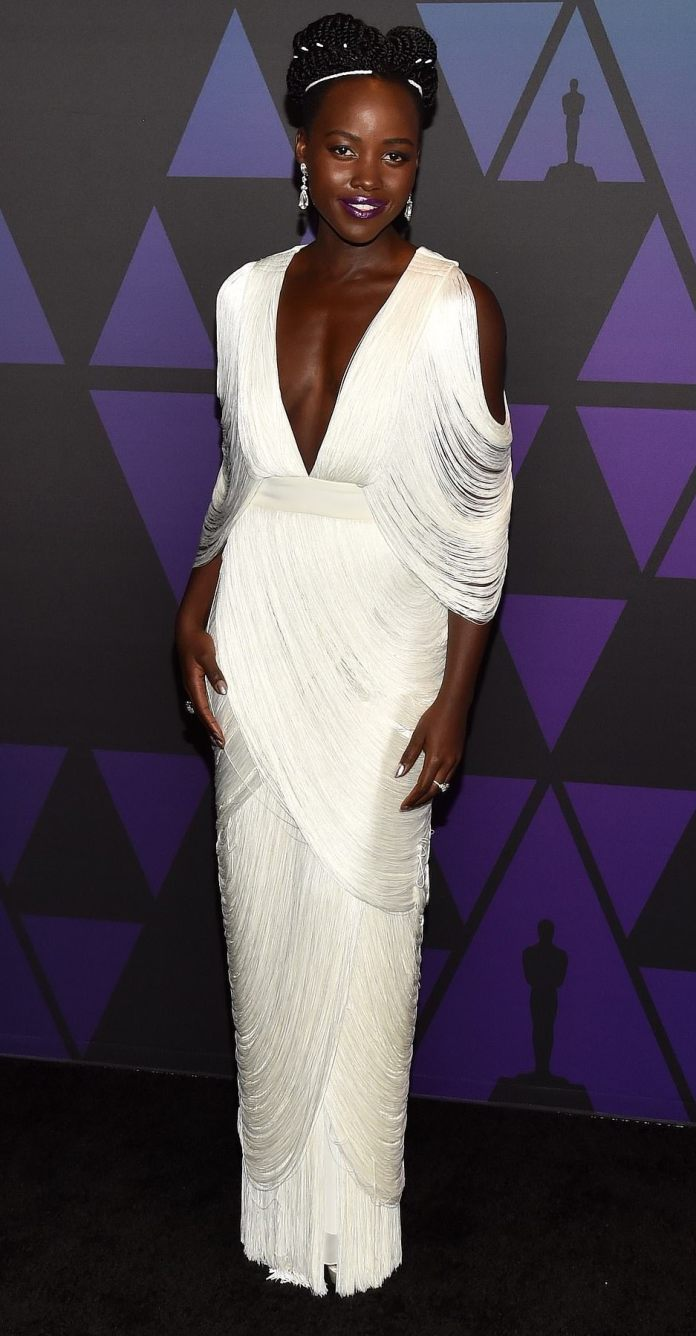 Lupita Nyong'O, Emma Stone, Lady Gaga Slay For The Governors Awards 7
