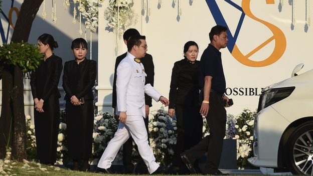 Farewell! Leicester City Players In Thailand For Owner's Funeral 6