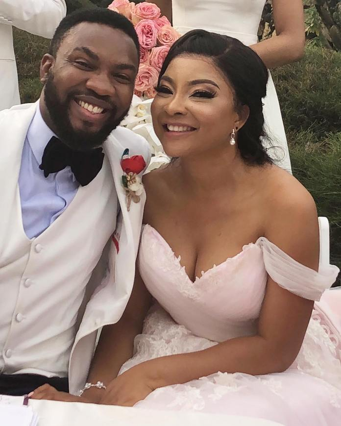 The Insider: Exclusive Photos From The White Wedding Of Linda Ejiofor 1