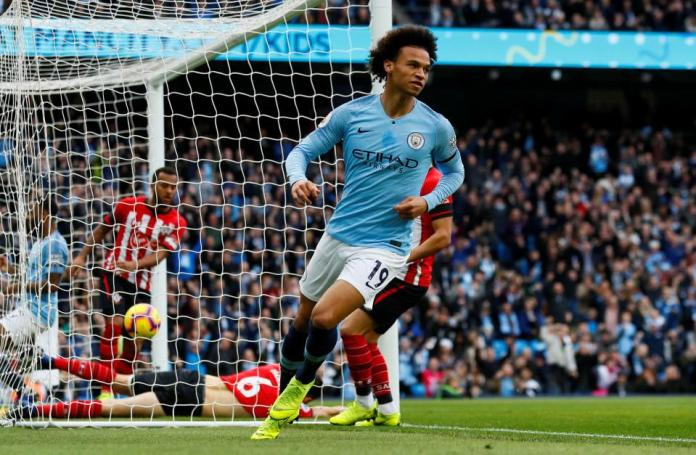 Manchester City 6 Southampton 1: Champions Thrash Sorry Saints To Go Top 1