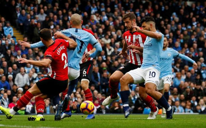 Manchester City 6 Southampton 1: Champions Thrash Sorry Saints To Go Top 2