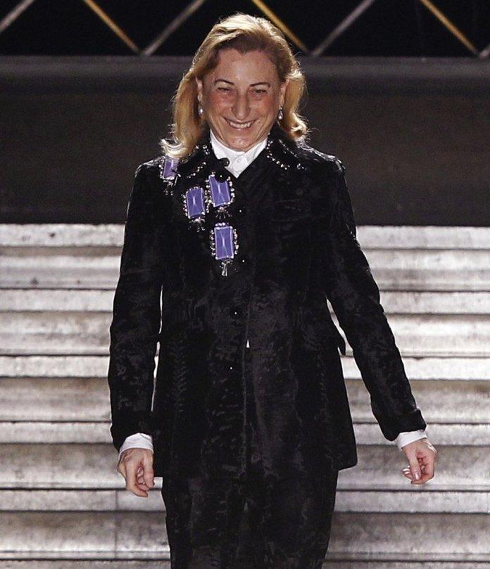 Miuccia Prada Set To Receive  Outstanding Achievement Awards At The 2018 Fashion Awards 1