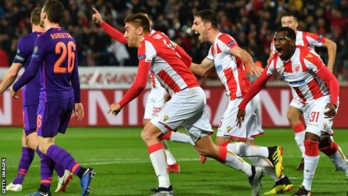 Red Star Belgrade 2-0 Liverpool: Reds Stunned In Champions League Defeat In Serbia 1