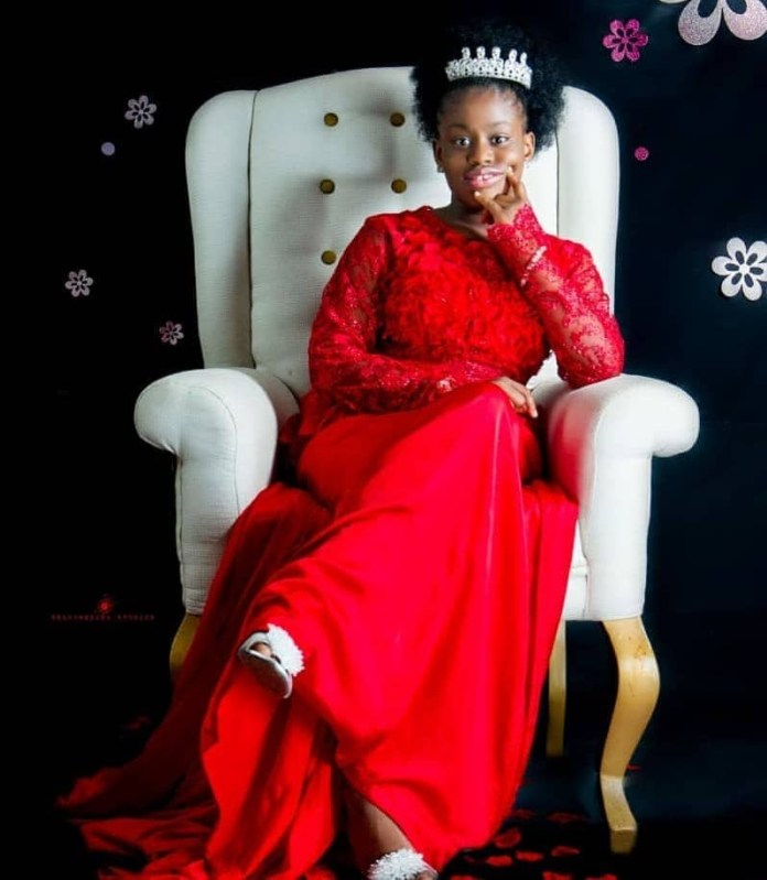 She Has A Mission To Fulfill On Earth - Uche Elendu Releases Beautiful Photos As She Celebrates Daughter's 10th Birthday 4