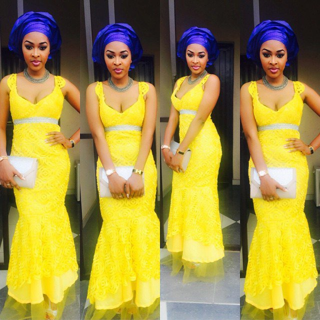 Aso Ebi Style: Step Out In Yellow And Embrace Your Sunny Bright Beauty 4