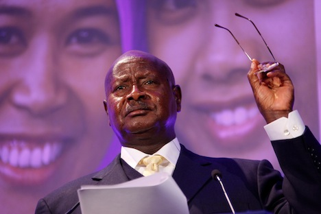 Head Of The Home Never Goes Into The Kitchen - Ugandan President 2