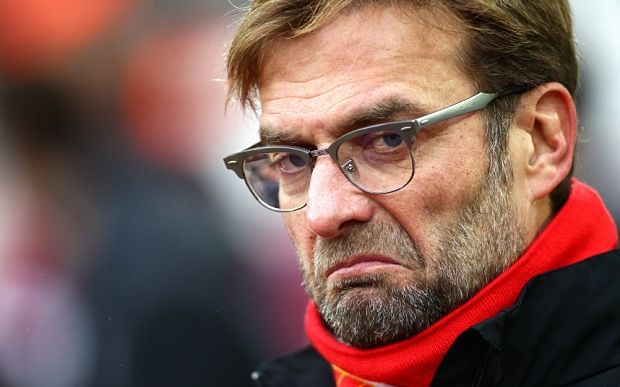"""Jurgen Klopp Says His Players Are """"Rocking"""", But His Body Language Says Different 2"""
