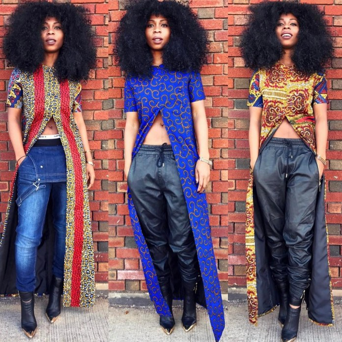 Ankara Style: Step Out In Style With These Trending Ankara Top-on-Jeans Designs For Your Outings 9