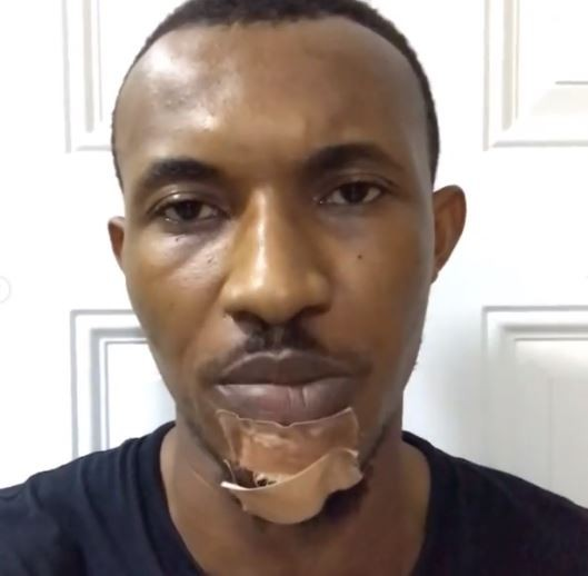 I Was Beaten And Draged On The Floor By The Police - Gideon Okeke (Photo) 1