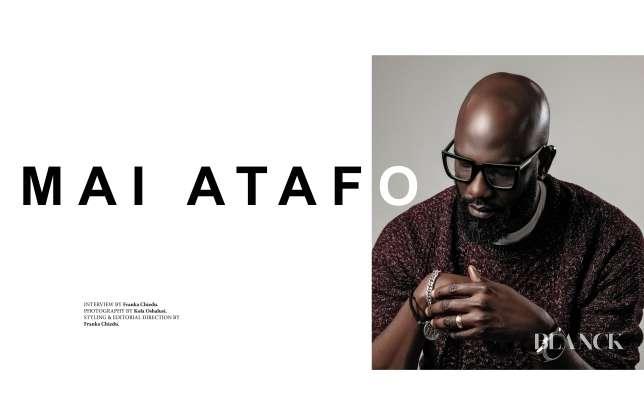 Celebrity Designer Mai Atafo Covers Blanck Magazine's 12th Issue. 1