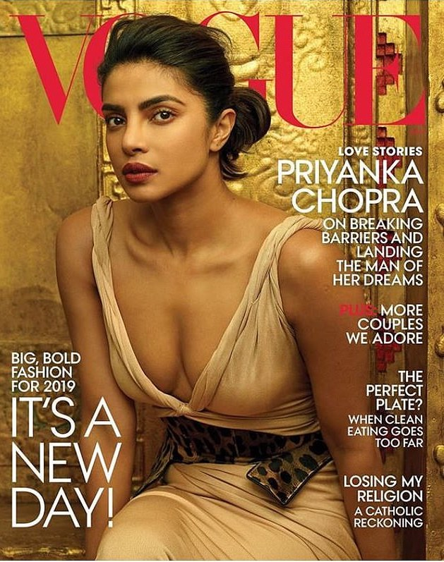 Vogue Unveils Priyanka Chopra's Cover And It Is Magnificent 1